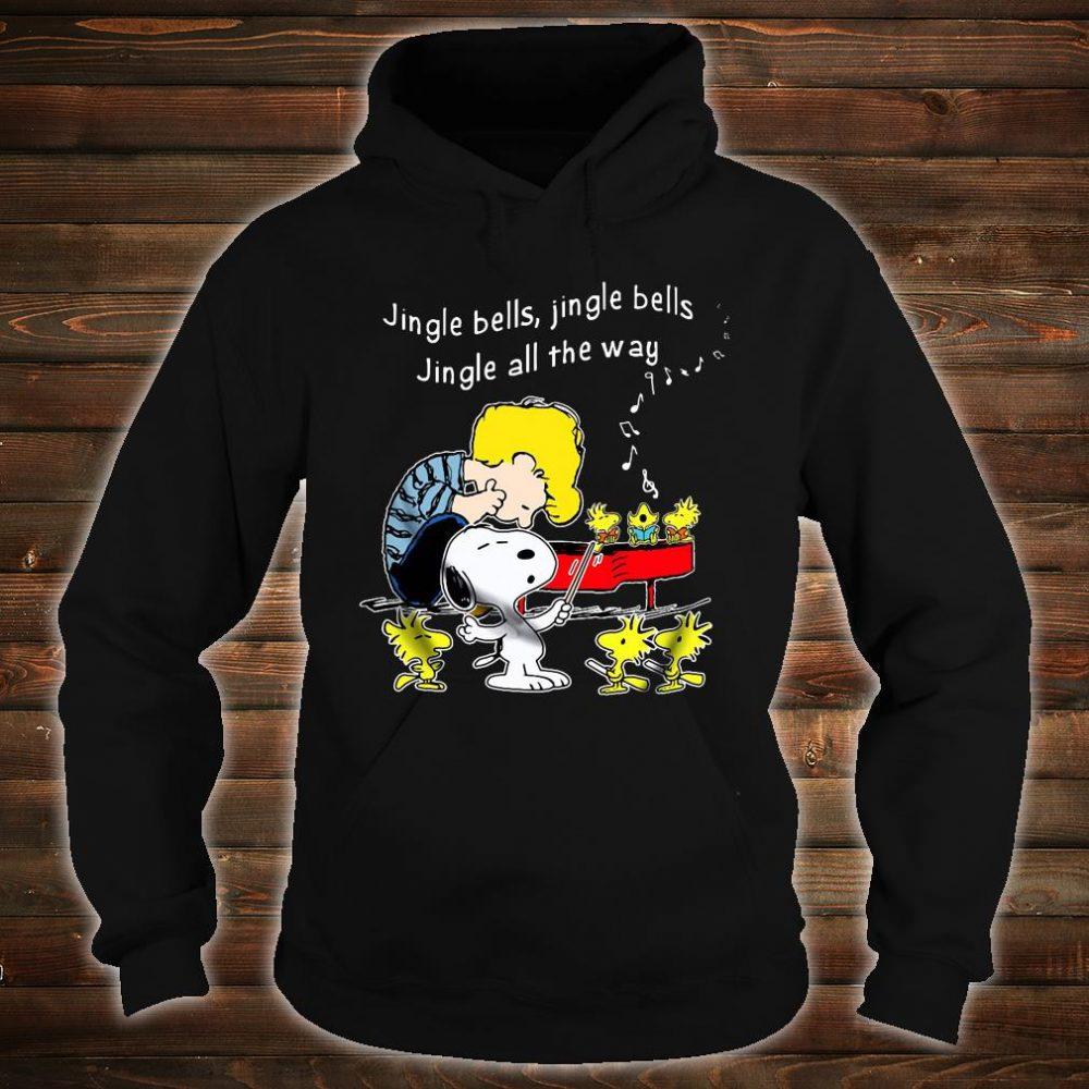 Jingle bells jingle bells jingle all the way shirt hoodie