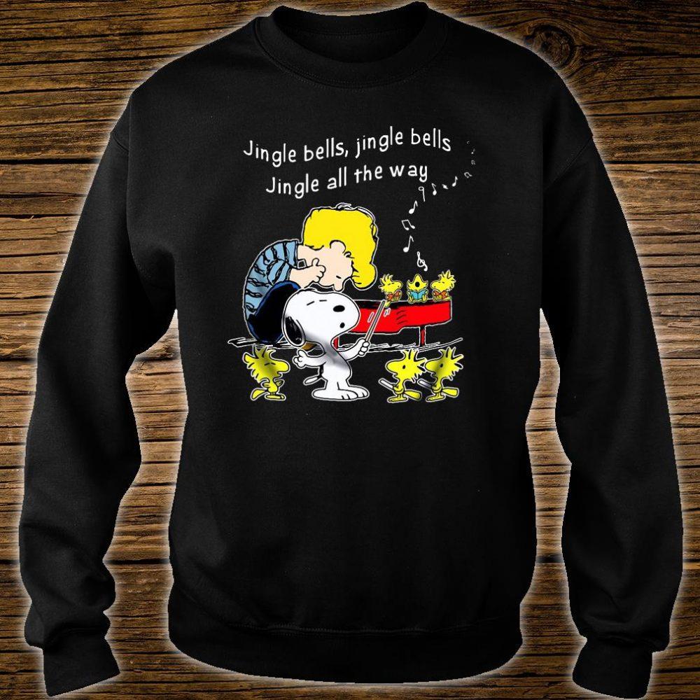 Jingle bells jingle bells jingle all the way shirt sweater