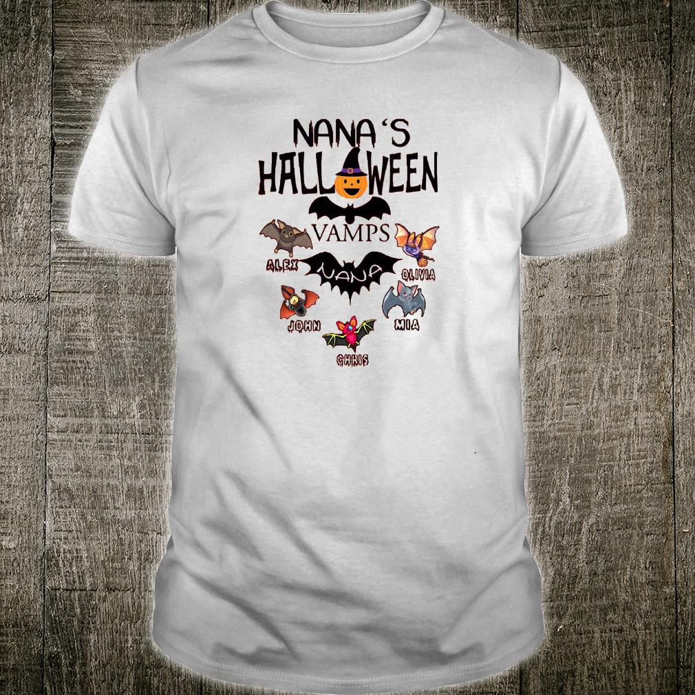 Nana's Halloween vamps shirt