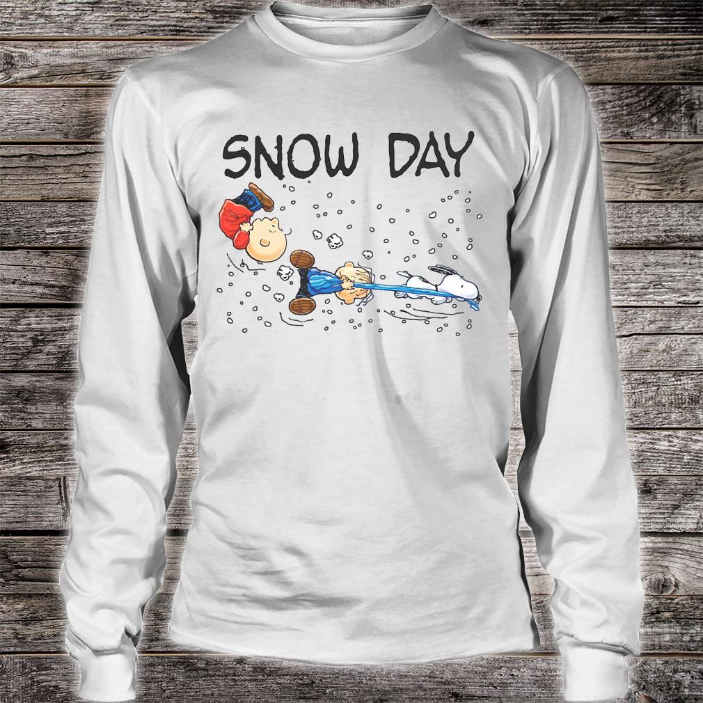 Snow day shirt long sleeved