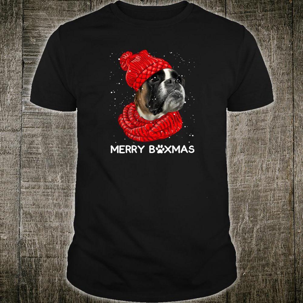 The Bulldog merry boxmas shirt