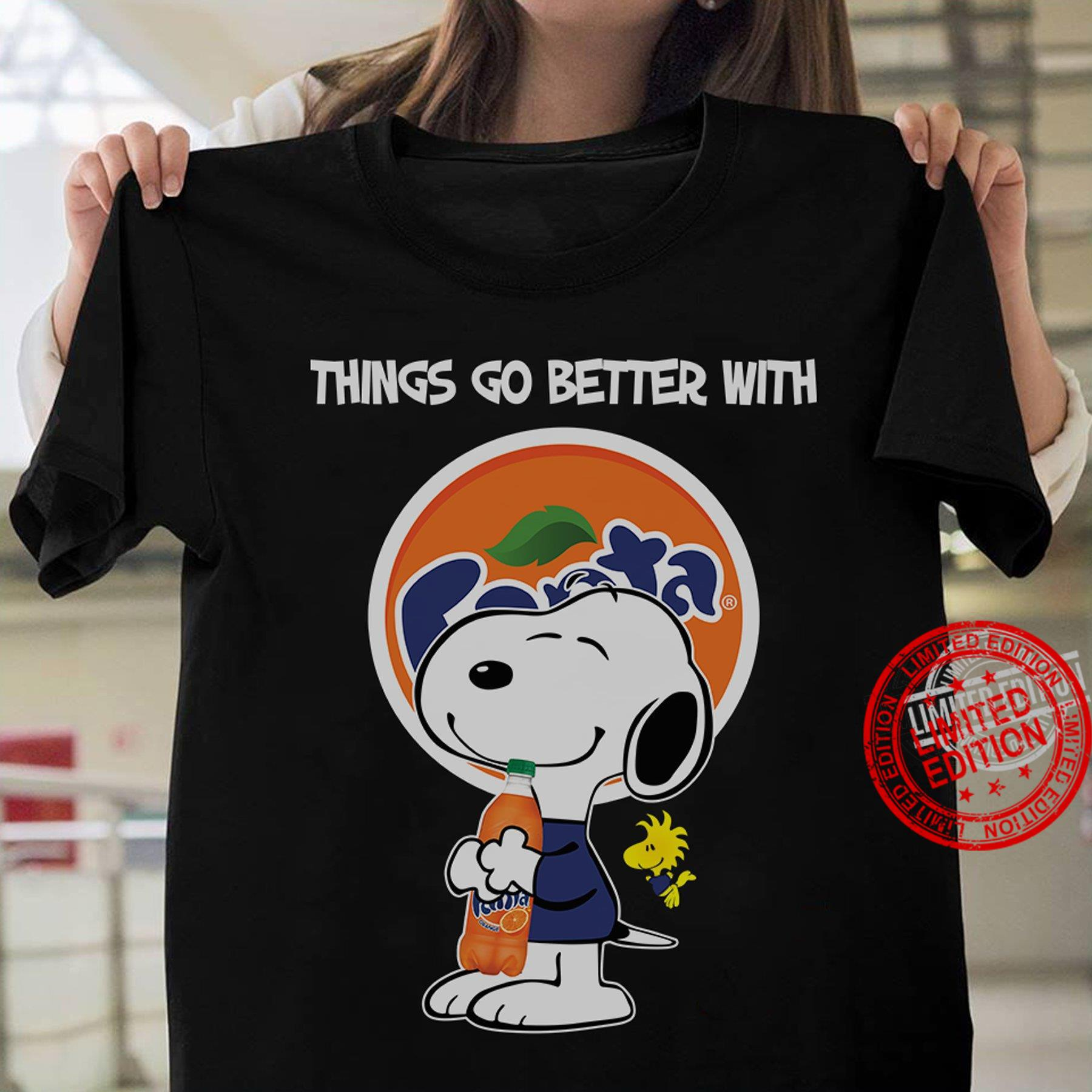 Things Go Better With Fanta Shirt