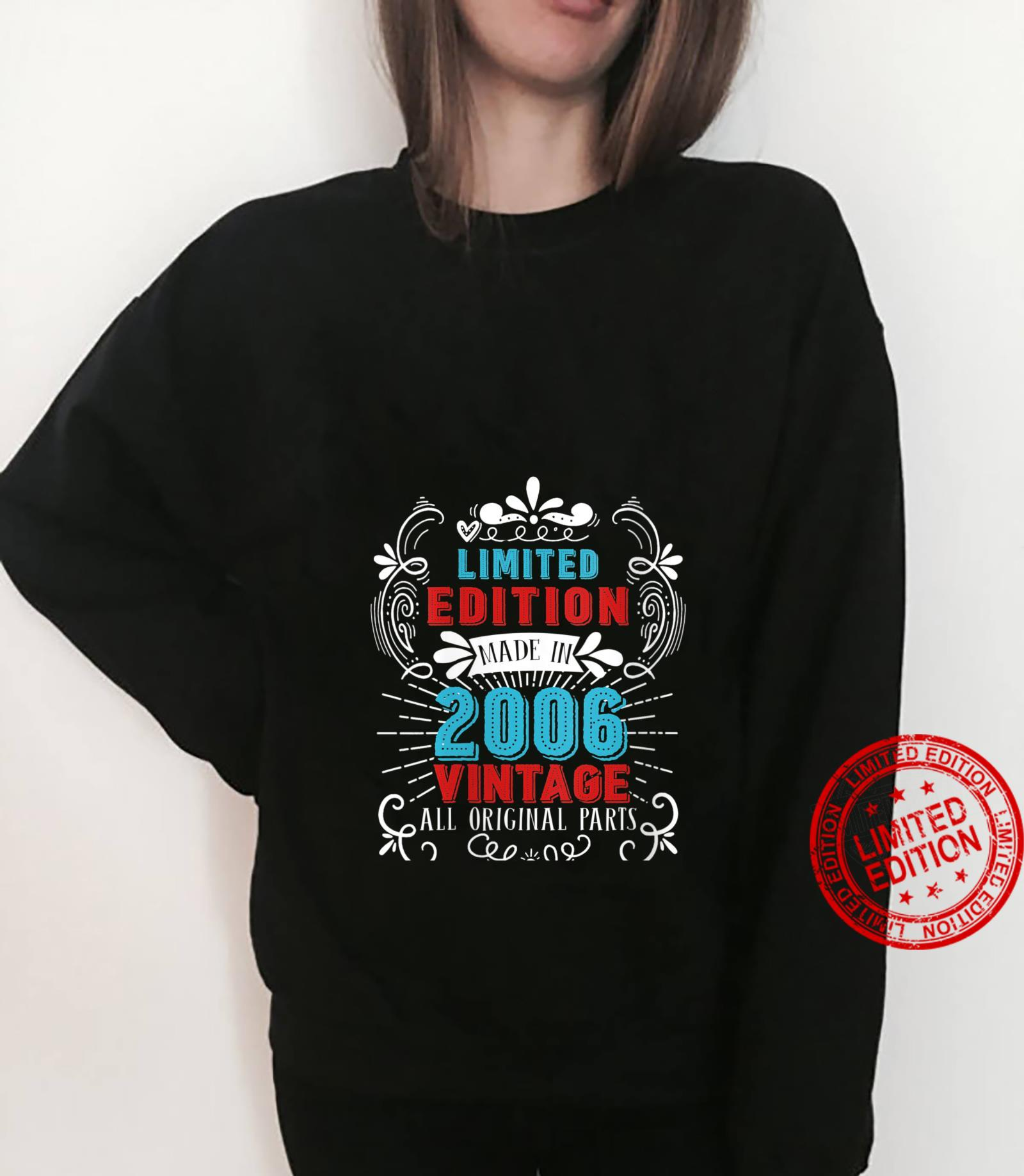 Womens Limited Edition Made in 2006 All Original Parts Vintage Shirt sweater